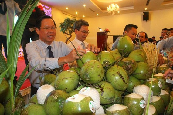 Agriculture in Ben Tre Province gradually takes off