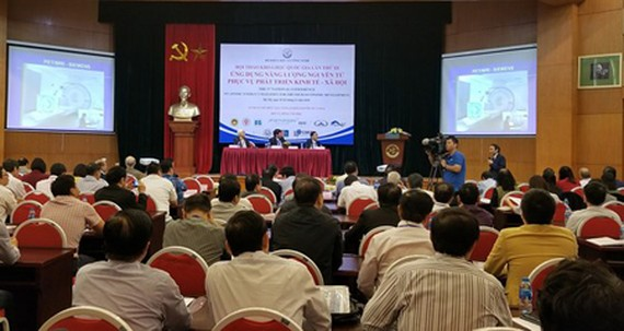 The 3rd national scientific conference on 'Atomic Energy Utilization for the Socio-Economic Development'. Photo by T.B