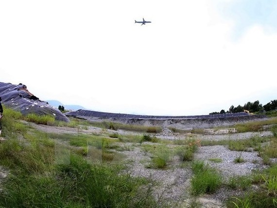 The project site at Da Nang Airport (Photo: VNA)