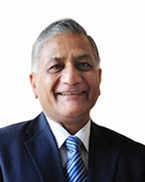 Minister of External Affairs of India Vijay Kumar Singh (Source: www.indianembassy)