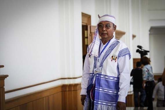 Speaker of Myanmar's House of Nationalities (Upper House) and Parliament Mahn Win Khaing Than (Source: AFP/VNA)