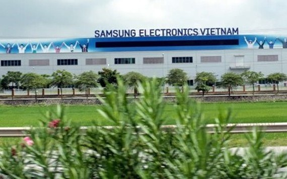 Samsung factory in Vietnam (Photo:SGGP)