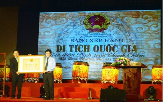 Thanh Chiem Palace is recognized as National Historic Relic Site