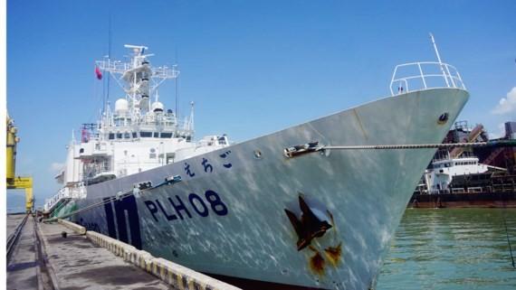 Japanese coast guard ship Echigo