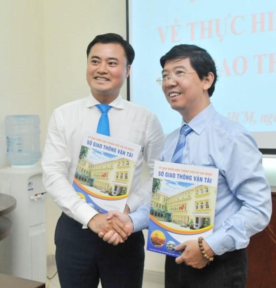 SGGP Newspaper & HCMC Transportation Department sign cooperation agreement