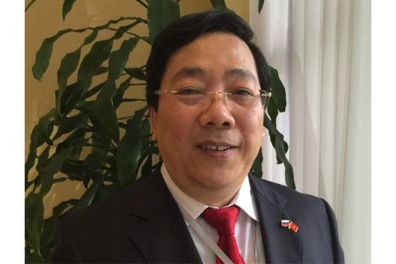 Vietnamese Ambassador to Russia Nguyen Thanh Son (Source: Laodong)