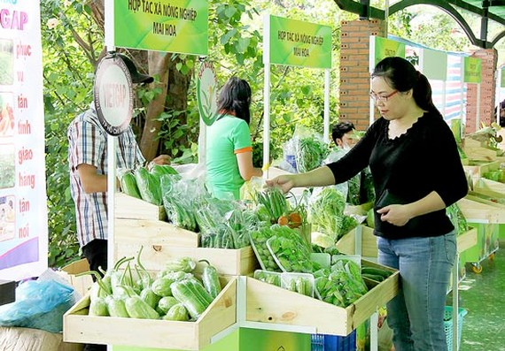 Farm Produce Fair 2017 is opened in Go Vap (Photo:SGGP)