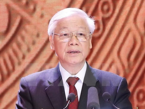 Party General Secretary Nguyen Phu Trong. His upcoming state visit to Cambodia will open a new stage of development in relations between the two countries. (Photo: VNA)