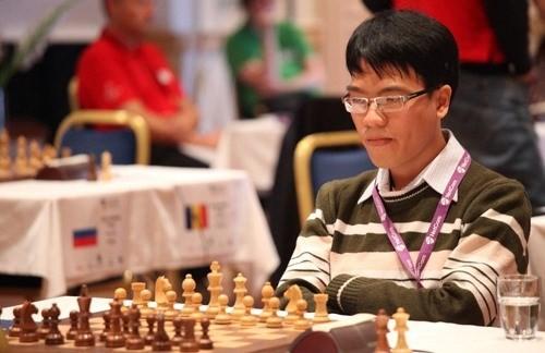 Vietnamese Grandmaster Lê Quang Liêm (Photo vnecdn.net)