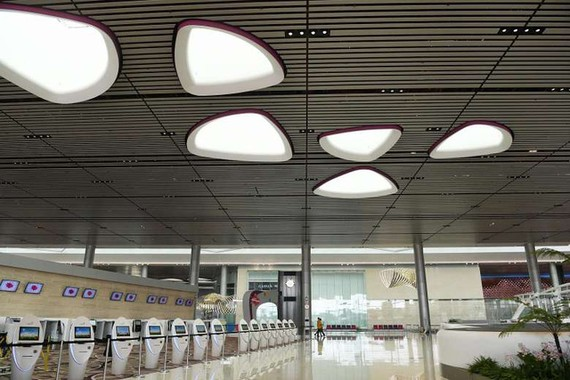 Terminal 4 of Singapore's Changi Airport (Photo:VTV)