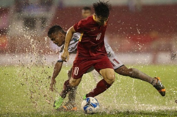 Nguyen Cong Phuong is one of the key players of Vietnam to compete in the upcoming SEA Games in Malaysia. (Source: vnexpress.net)
