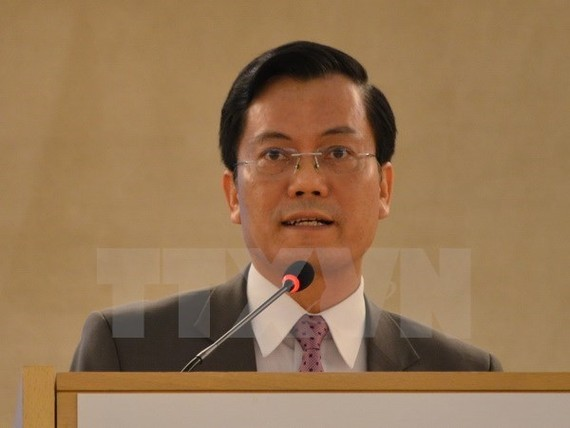 Deputy Foreign Minister Ha Kim Ngoc (Photo: VNA)