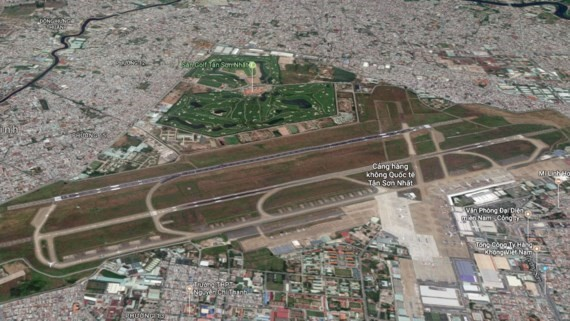 Tan Son Nhat Airport (Photo: Google map)