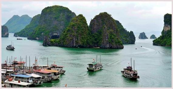 Ha Long Bay - a popular tourist destination in Quang Ninh (Photo: VNA)