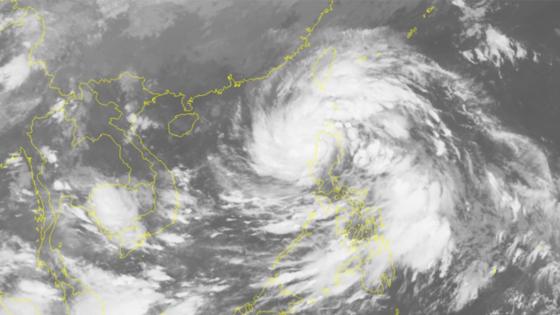 Typhoon Khanun is heading towards East Sea