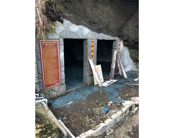 Landslide experiences in Duc Pagoda