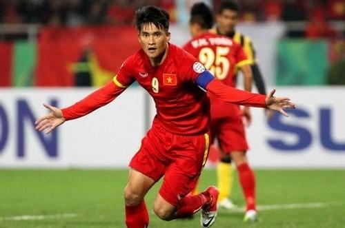 Vietnamese top striker Le Cong Vinh. (Photo: danviet.vn)