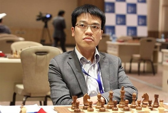 Chess player Le Quang Liem (Photo VNA)