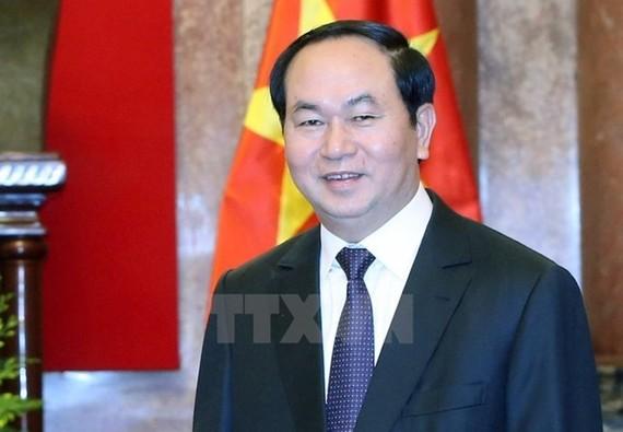 President Tran Dai Quang (Source: VNA)