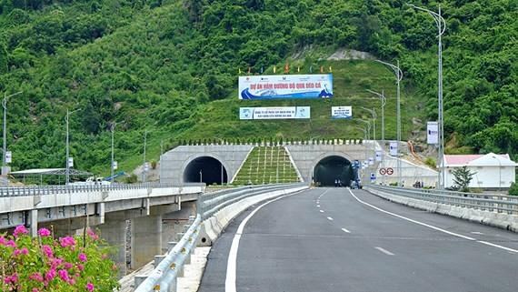 Deo Ca tunnel (Photo:baokhanhhoa)