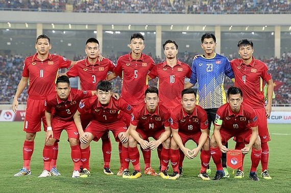 Vietnam Football Team (Photo: Minh Hoang)