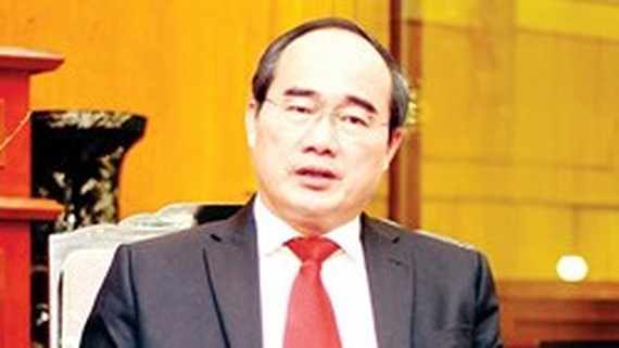 Secretary of the Ho Chi Minh City Party Committee Nguyen Thien Nhan