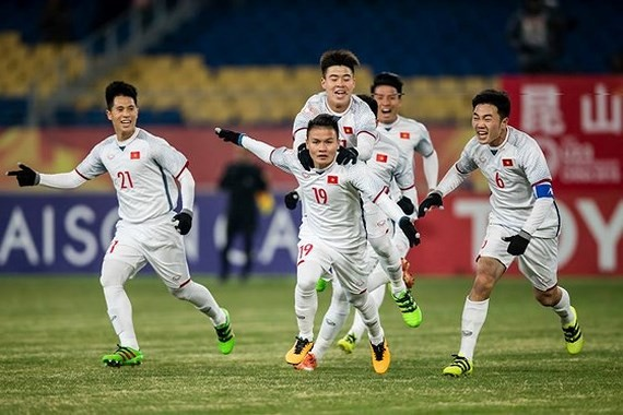Vietnam football team enters finals of AFC U23 Championship
