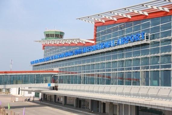 Van Don international airport in Quang Ninh will be operational in December. (Photo: vtv.vn)