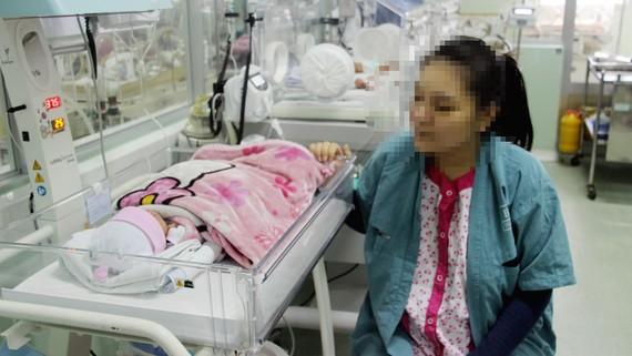 Hiện tại sức khỏe của mẹ và bé đã dần ổn định