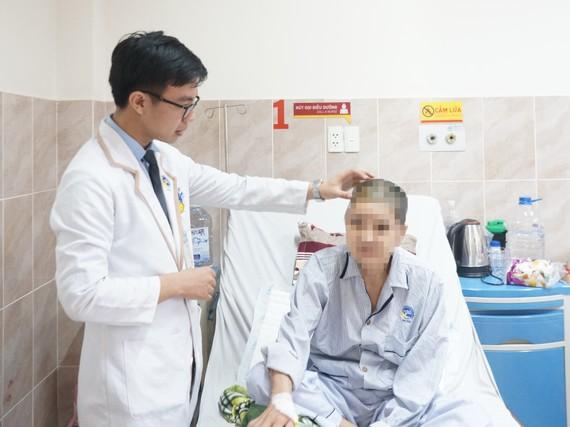 Hiện sức khỏe của bệnh nhân đã ổn định, sớm xuất viện