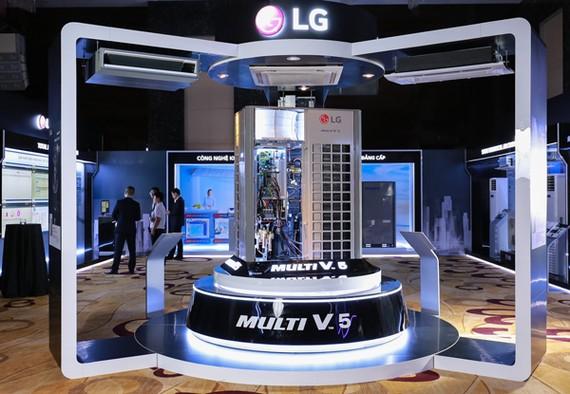 LG ra mắt điều hòa trung tâm Multi V5