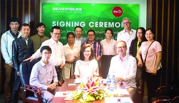 Ký kết biên bản hợp tác đầu tư chiến lược, phát triển sản phẩm Chatbot  - ẩm thực đầu tiên tại Đà Nẵng.