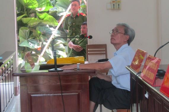 Bị cáo Nguyễn Khắc Thủy tại phiên tòa phúc thẩm