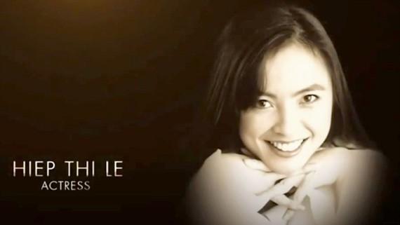 Hình ảnh Lê Thị Hiệp xuất hiện trong đoạn clip In Memoriam