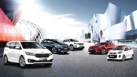 Tháng 8-2018, cơ hội mua xe Kia cùng hàng loạt ưu đãi hấp dẫn