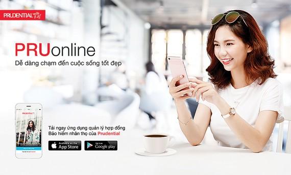 Prudential ra mắt phiên bản ứng dụng điện thoại của Cổng thông tin khách hàng PRUonline