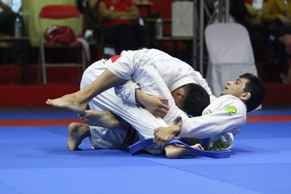 圖為巴西柔術比賽的一隅。(資料圖源:君武)