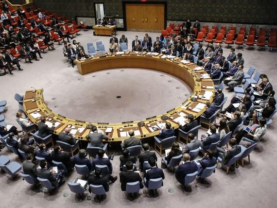聯合國安理會9月4日召開緊急會議,審議朝鮮核試驗問題(圖源:VCG)