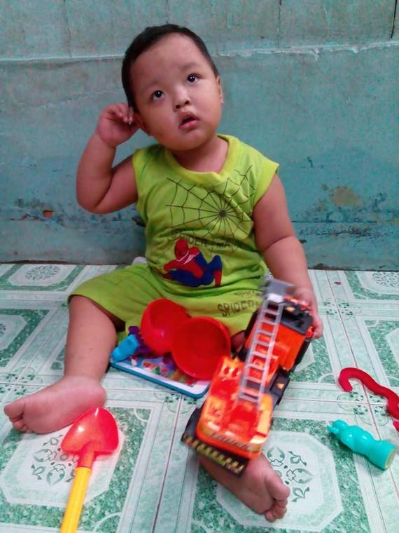 陳家寶是個好動的小孩。