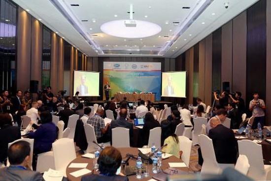 APEC中小微企業(MSME)與科技經濟接軌研討會現場。(圖源:清雨)