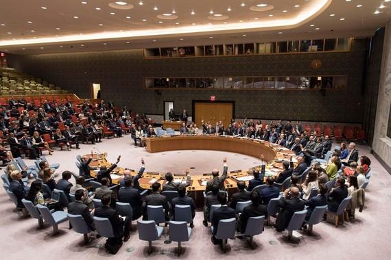 聯合國安理會9月11日一致決議對朝鮮實施更嚴厲制裁。(圖源:UN / Mark Garten)