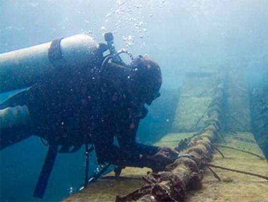 聯亞海底光纜故障月底修復。(示意圖源:互聯網)