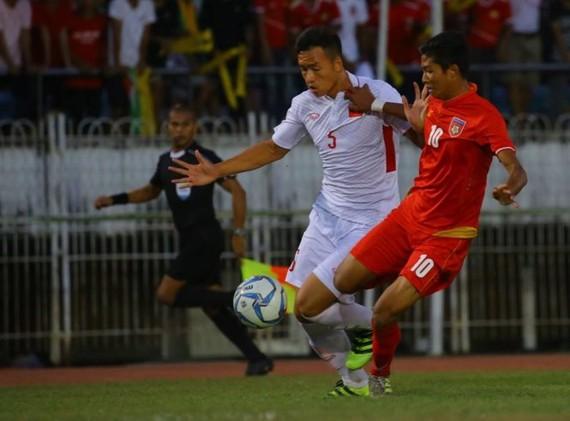 緬甸 U18 -越南 U18:2比1。(圖源:互聯網)