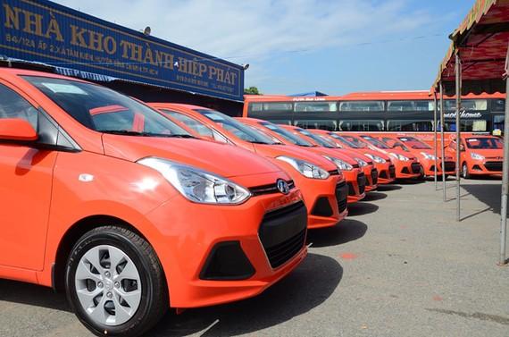 芳莊公司投巨額開發VATO應用程式及大量新款汽車與 Grab 展開競爭。(圖源:PT)