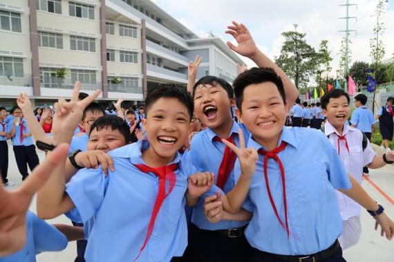 讓孩子每天開心去上學。