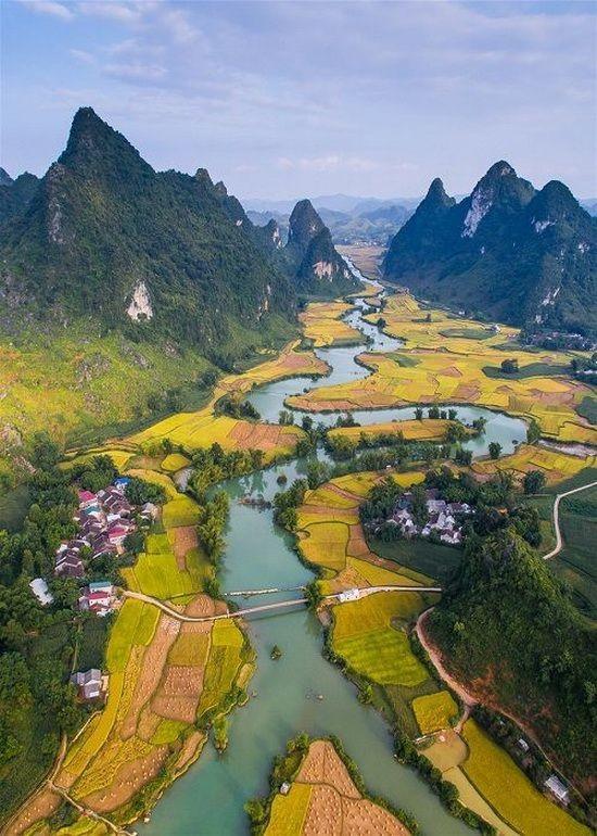 獲公認為世界地質公園的高平山水地質公園。