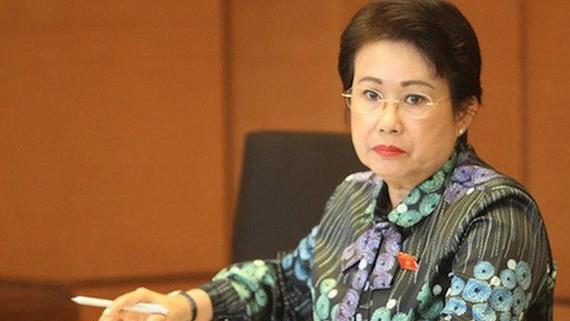 同奈省國會代表團長潘氏美清。(圖源:互聯網)