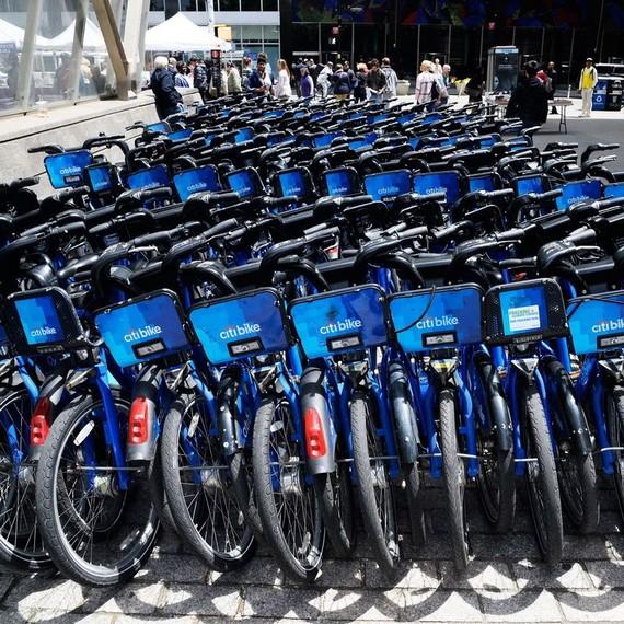 美國共用自行車。