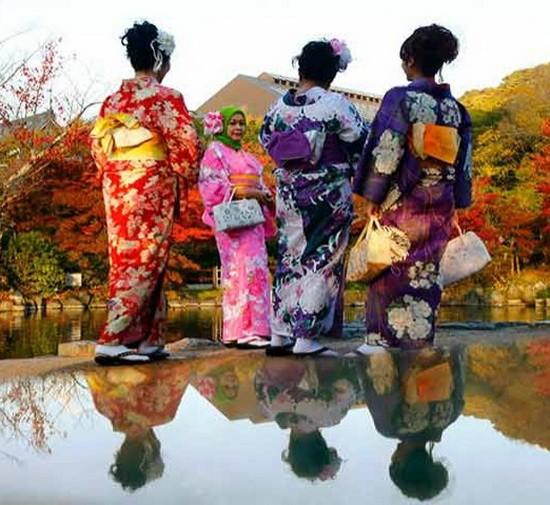 銷量40年萎縮85% ,日本業者要壓低價格拯救和服。(示意圖源:互聯網)