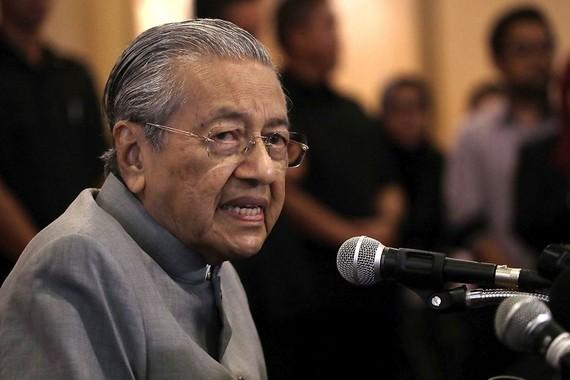 圖為馬來西亞總理馬哈蒂爾。(圖源:AP)